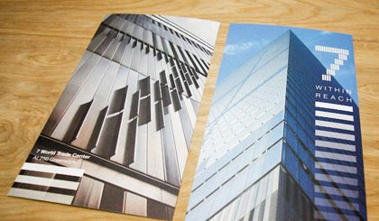 7 World Trade Center postcards