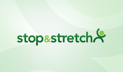 Stop and Stretch logo