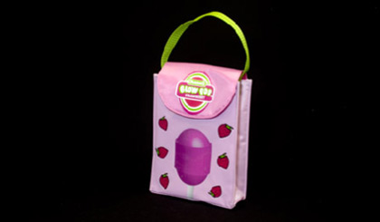 Tootsie Roll lunch bag - Blow Pop pink