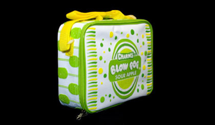 Tootsie Roll lunch bag - Blow Pop lime green
