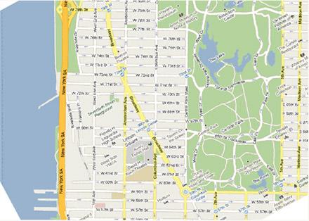 Midtown  Manhattan  Map Sceenshot