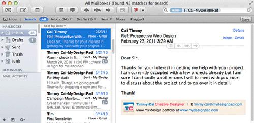 mail mac 10.6.8