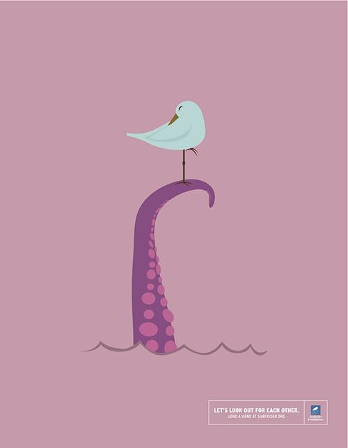 seagull-octopus