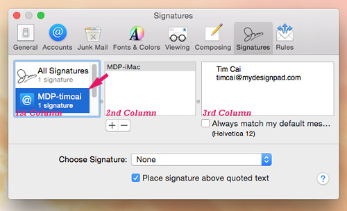 how to make email signature