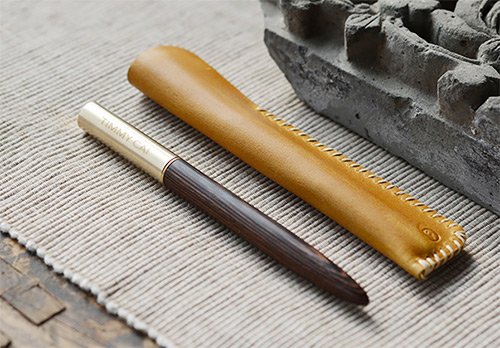 Wood and Brass Pen